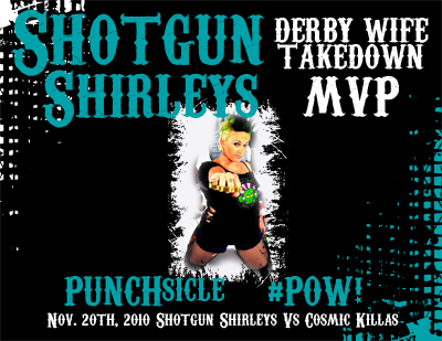 PUNCHsicle - Derby Wife Takedown MVP