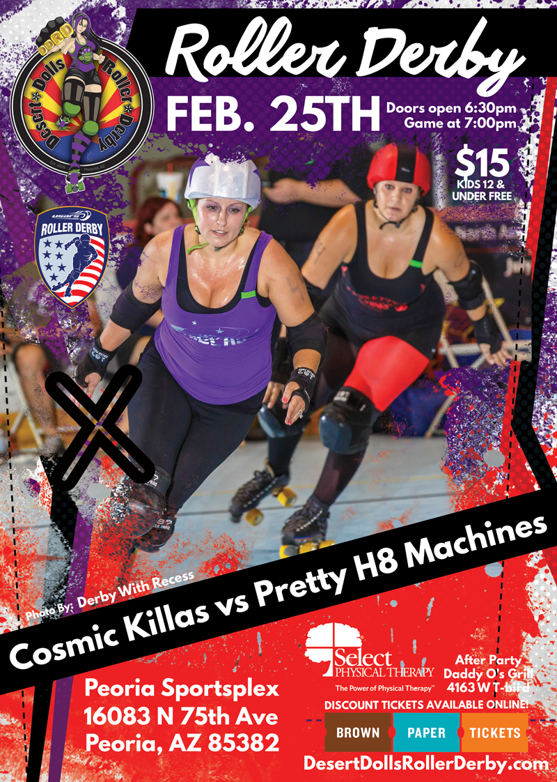February 25th Cosmic Killas vs Pretty H8 Machines
