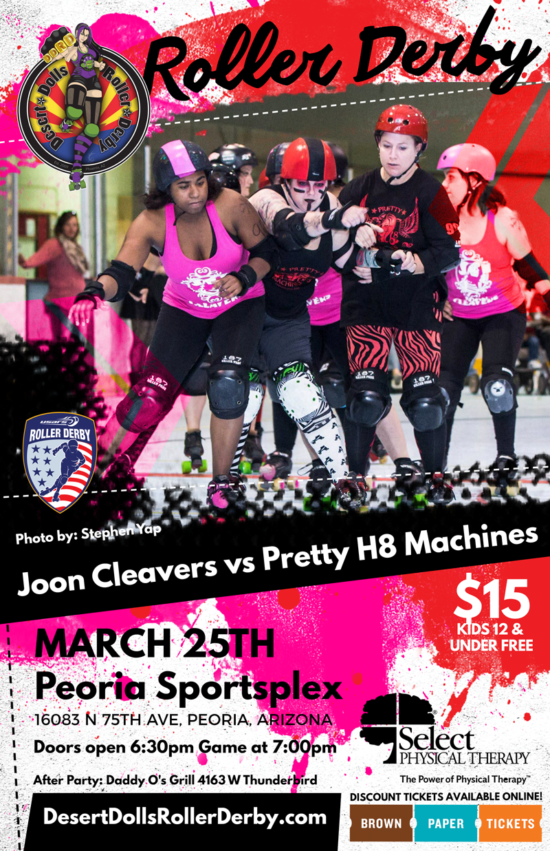 March 25th - Joon Cleavers vs Pretty H8 Machines
