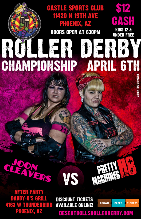 Championship - Joon Cleavers vs Pretty H8 Machines