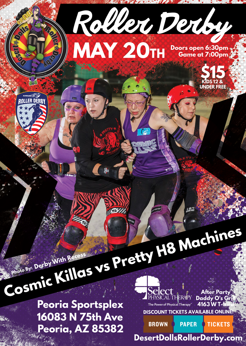 May 20th Roller Derby