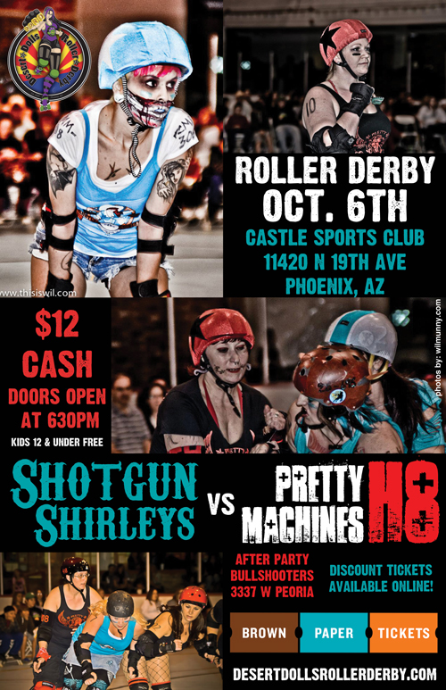 Pretty H8 Machines vs Shotgun Shirleys