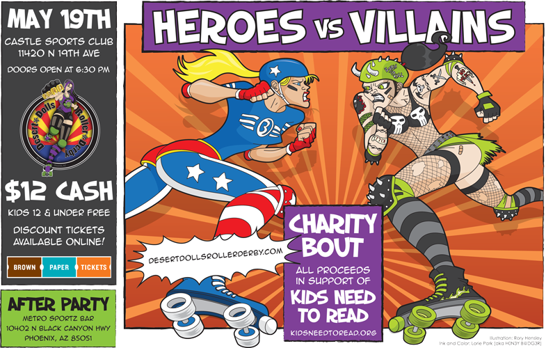 Heroes vs Villains Charity Bout