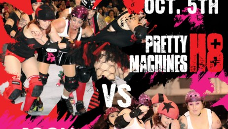October 5th, 2013 - Pretty H8 Machines vs Joon Cleavers