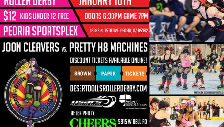 January 10th, 2015 - Desert Dolls Roller Derby