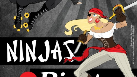 Pirates vs Ninjas Charity Bout
