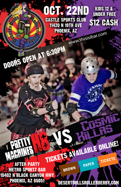 Pretty H8 Machines vs Cosmic Killas - Oct. 2nd