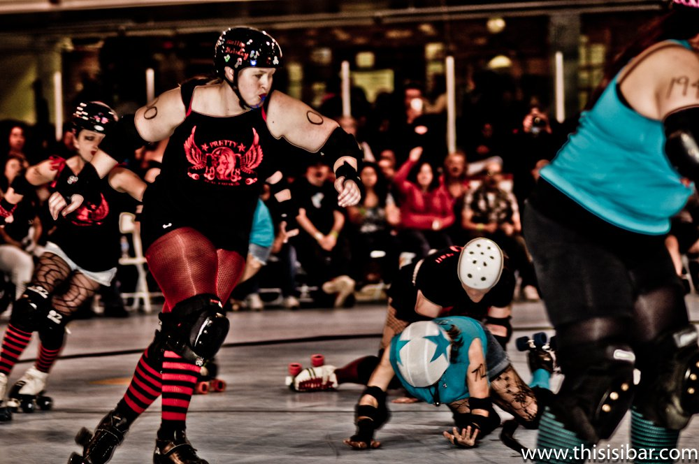 Feb. 26th DDRD Bout - Shotgun Shirleys vs Pretty H8 Machines