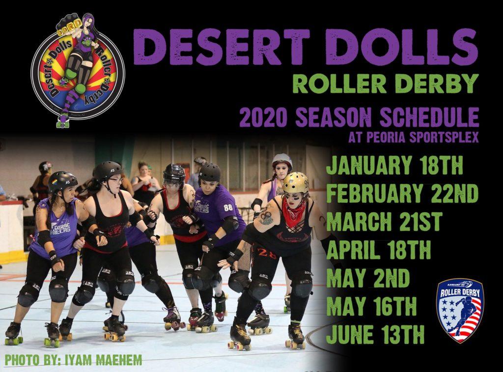 DDRD 2020 Season Schedule